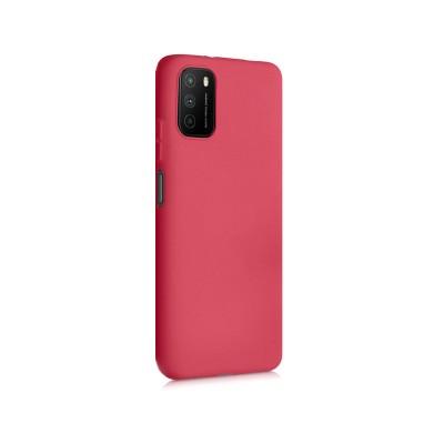 Capa Silicone Xiaomi Poco M3 Vermelha