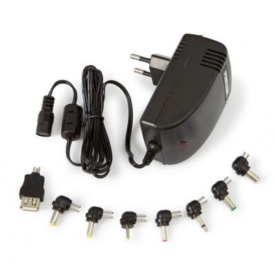 Universal charger Fonestar 5-24V 2.8A 36W Black (AD-2820E)
