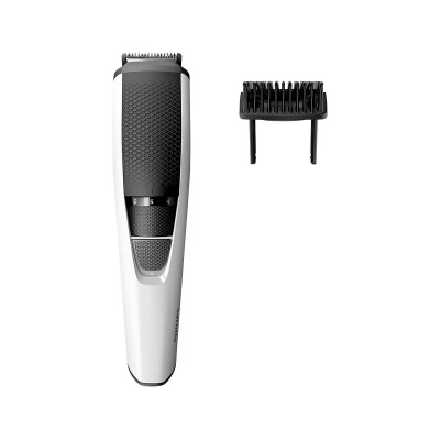 Máquina de Barbear Sem Fio Philips Beardtrimmer BT3206 Branca