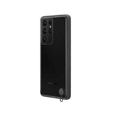Capa Clear Protective Original Samsung Galaxy S21 Ultra Preta (EF-GG998CBE)