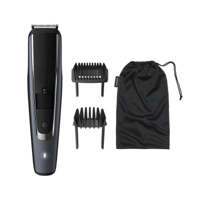 Barbear Sem Fio Machine Philips Beardtrimmer BT5502 Black