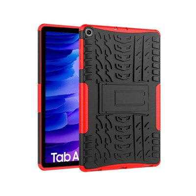 Capa Tablet Anti-Choque Samsung Galaxy Tab A7 T500/T505 Preta/Vermelha