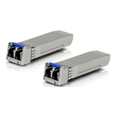 Pack 2 Módulos Transceiver Fibra Ubiquiti 10G SFP+ (UF-SM-10G)