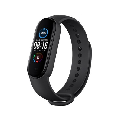 Silicone Bracelet Xiaomi Mi Band 5/6 Black