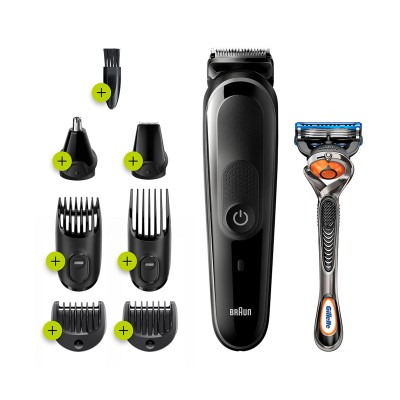 Wireless Multifunction Trimmer Braun MGK 5260 Black