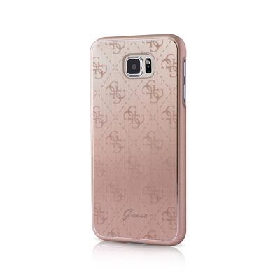 Guess Aluminum Hard Case Samsung Galaxy S7 G930 Rose Gold (GUHCS7MEPI)