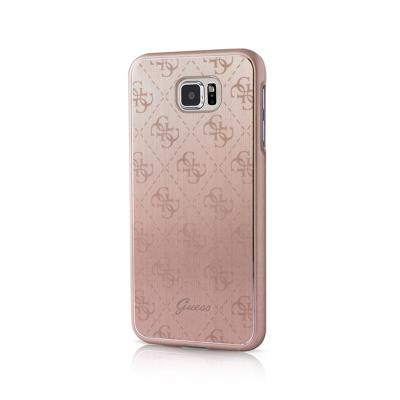 Guess Metalic Hardcase Case Samsung S7 Edge G935 Pink (GUHCP6TR4GG)
