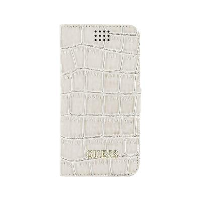 "Guess Shiny Croco Universal Flip Cover Case Size M 4""- 4,5"" (GUBKMSCOBE)"