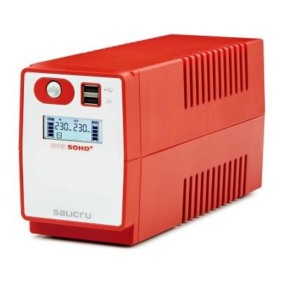 UPS Salicru SPS 650 SOHO+ 650VA Red