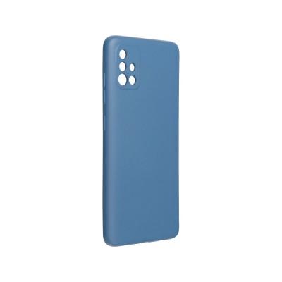 Capa Silicone Samsung A51 A515 Azul