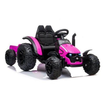 Electric Tractor HZB-200 12V Pink