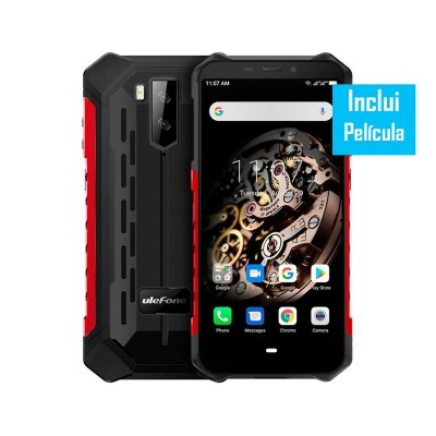 Ulefone Armor X5 32GB/3GB Dual SIM Vermelho