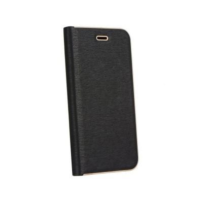 Capa Flip Cover Luna Book Xiaomi Mi 10 Lite Preta