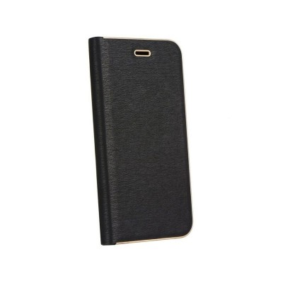 Funda Flip Cover Luna Book Xiaomi Mi 10 Lite Negra