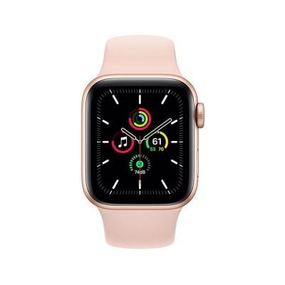 Smartwatch Apple Watch SE 44mm GPS Gold w/Pink Sports Bracelet