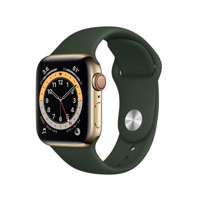 Smartwatch Apple Watch Series 6 40mm GPS+Cellular w/Sport Bracelet Gold/Green