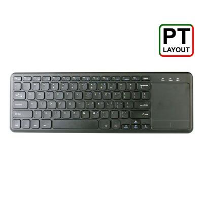 Keyboard MKPlus MC 910 c/TouchPad Wireless