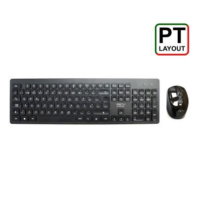 Teclado + Rato MKPlus TG8117WR Wireless Preto