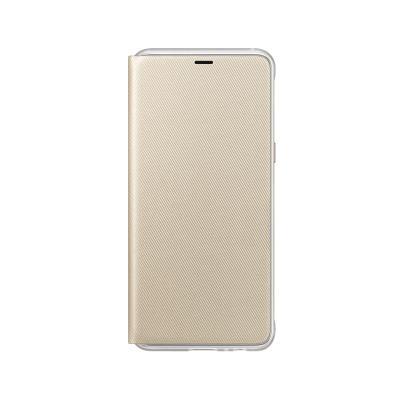 Capa Neon Flip Cover Original Samsung A8 2018 EF-FA530PFE Dourada
