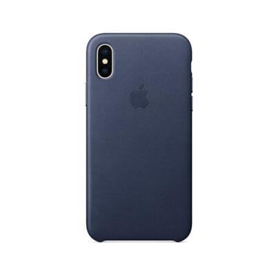 CAPA APPLE ORIGINAL HARD LEATHER CASE MQTC2ZM/A IPHONE X AZUL