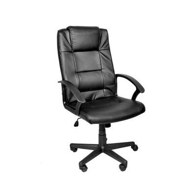 Cadeira de Escritório ECO Couro Preta (8982)