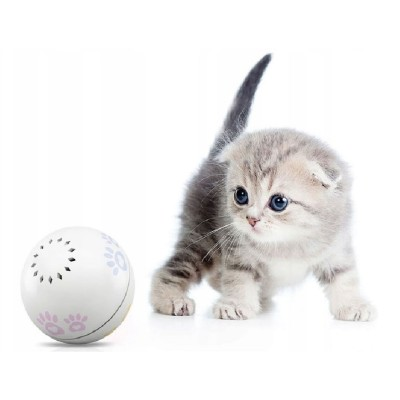 Smart Ball for Animals Petoneer Smart Play Ball White