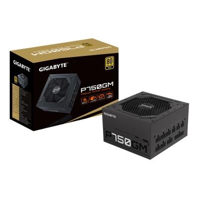 Fonte de Alimentação Gigabyte P750GM 750W 80 Plus Gold Full-Modular