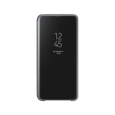 Funda Clear View Original Samsung S9 Negra (EF-ZG960CBE)