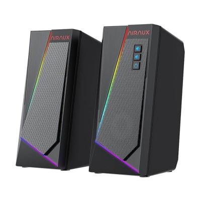 Colunas BlitzWolf AirAux RGB 6W 2.0 Pretas (AA-GCR1)