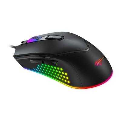 Gaming Mouse Havit MS814 RGB 7000 DPI Black