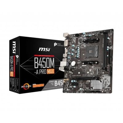 Motherboard ATX MSI B450M-A Pro Max Micro-ATX (911-7C52-002)