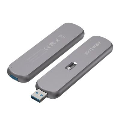 Caixa Externa Blitzwolf SATA M.2 SSD USB 3.0 Cinzento (BW-SSDE4)