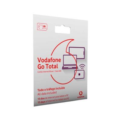 Cartão Banda Larga Vodafone Go Total 15 Dias