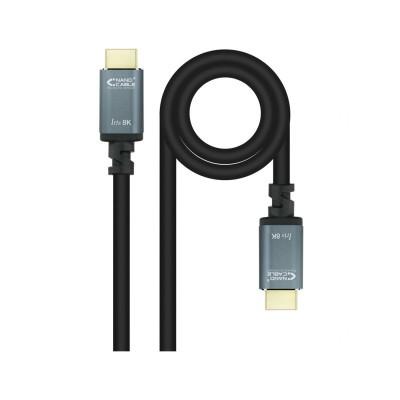 Cabo HDMI Nanocable V2.1 8K 3m Preto