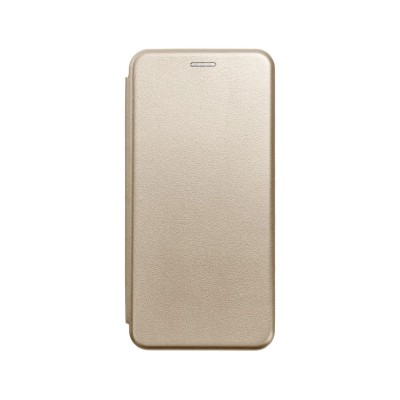 Flip Cover Elegance Forcell Samsung Galaxy A71 A715 Gold