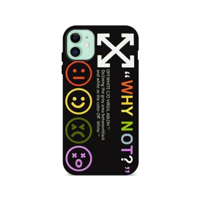 Silicone Cover iPhone 11 Why Not