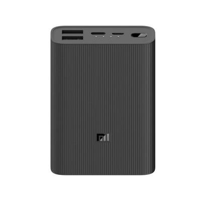 PowerBank Xiaomi Mi Power Bank 3 Ultra Compact 10000 mAh Preta
