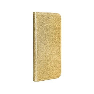 Capa Flip cover Forcell Samsung Galaxy A71 A715 Shining Dourado