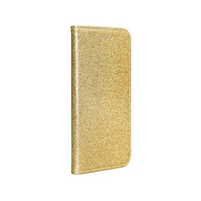 Flip Shining Cover Forcell Samsung Galaxy A71 A715 Gold