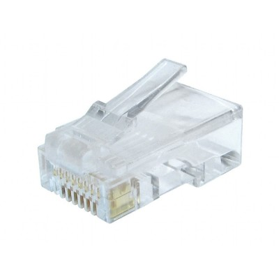 RJ45 Connector Cat 6 UTP (10 units)