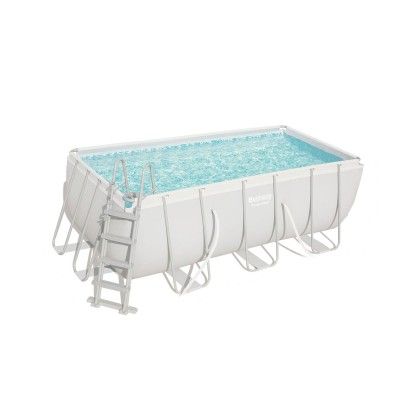 Pool Bestway Power Steel 56456 412x201x122 cm w/Fluid Pump