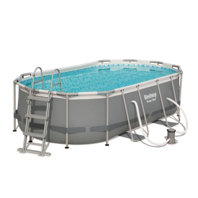 Pool Bestway Power Steel 56620 427x250x100 cm w/Fluid Bomb