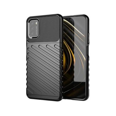 Funda Silicona Reforzada Xiaomi Poco M3/Redmi 9T Negra