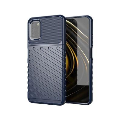 Funda Silicona Reforzada Xiaomi Poco M3/Redmi 9T Azul oscuro