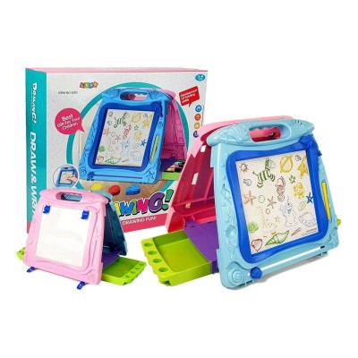 Magnetic Board 2 in 1 Blue/Pink