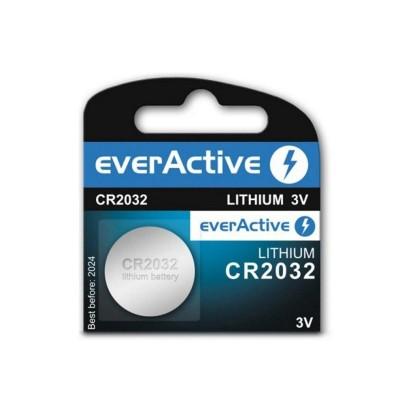Batteries Lithium CR2032 3V (1 battery)