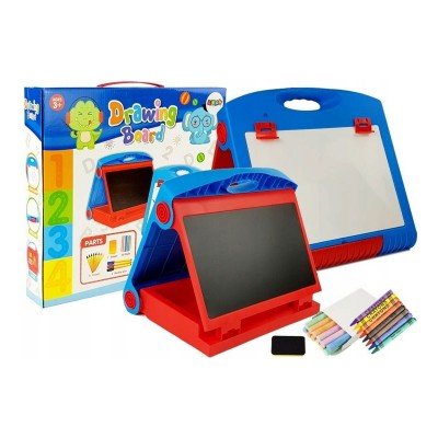 Drawing Board 2 in 1 Red/Blue (7103)