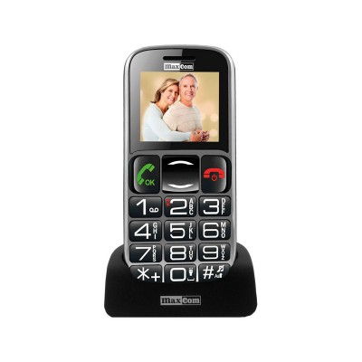 Maxcom MM462BB Single SIM Negro