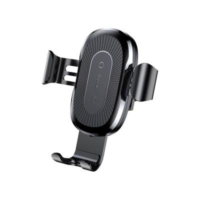 Wireless Car Charger Baseus 10W Black