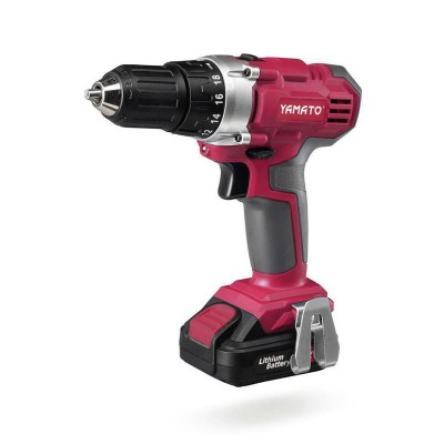 Electric Screwdriver Yamato 12V 1,5Ah Red